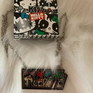 Brand new KISS hello kitty necklace